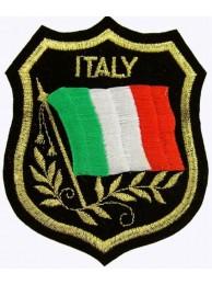 Italy Shield Flag