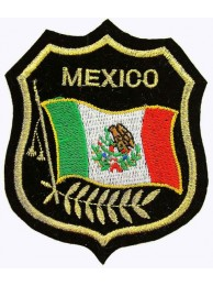 Mexico Shield Flag