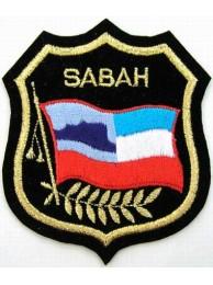 Malaysia States Sabah Shield Flag