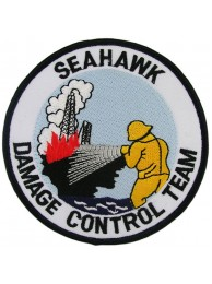 SEAHAWK FIREMAN DAMAGE CONTROL TEAM PATCH