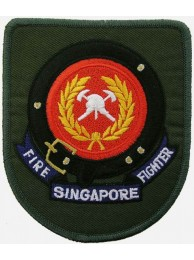 SINGAPORE FIRE FIGHTHER PATCH