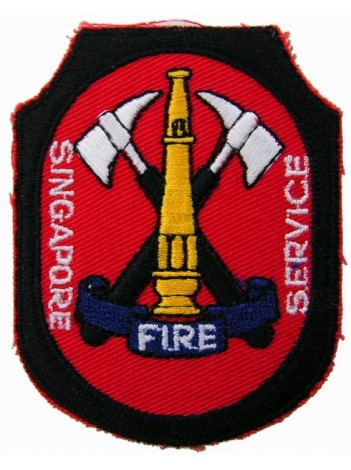 SINGAPORE FIRE SERIVCE PATCH