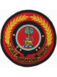 SINGAPORE FIRE SERIVCE FIREMAN PATCH