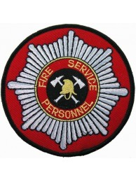 SINGAPORE FIRE SERVICE PERSONNEL PATCH