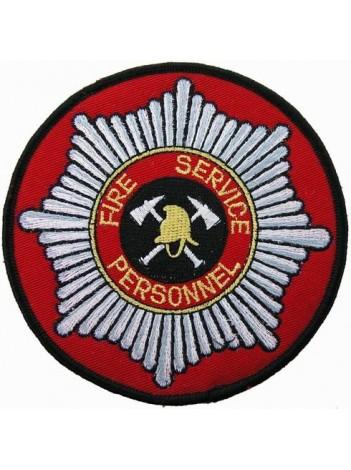 SINGAPORE FIRE SERVICE PERSONNEL FIREMAN PATCH