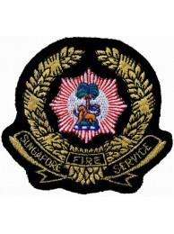 SINGAPORE FIRE SERIVCE PATCH