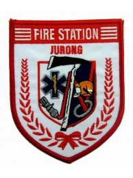 SINGAPORE FIREMAN TROOP JURONG PATCH