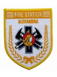SINGAPORE FIREMAN TROOP ALEXANDRA PATCH