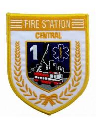 SINGAPORE FIREMAN TROOP CENTRAL PATCH