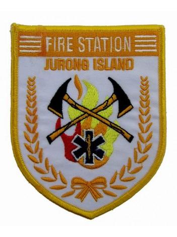 SINGAPORE FIREMAN TROOP JURONG ISLAND PATCH
