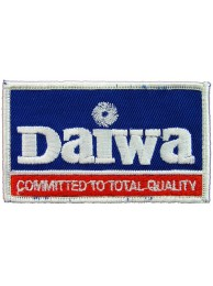 Daiwa Fishing Sport Embroidered Patch