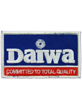Daiwa Fishing Sport Embroidered Patch