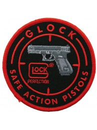 GLOCK PISTOL SHOOTING SPORT EMBROIDERED PATCH #01
