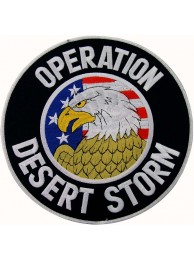 GIANT US ARMY DESERT STORM OPERATION PATCH (P)
