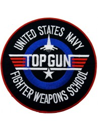 GIANT US NAVY TOP GUN PATCH (P)