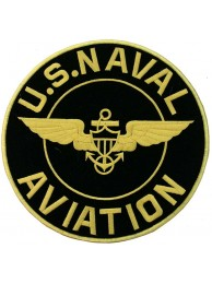 GIANT USN US NAVY AVIATION PATCH (P)