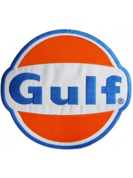 GIANT GULF OIL & GAS EMBROIDERED PATCH (P) #01