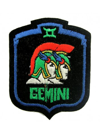 HOROSCOPE EMBROIDERED PATCH - GEMINI