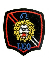 HOROSCOPE EMBROIDERED PATCH - LEO