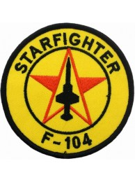 ITALY AIRFORCE F104 STARFIGHTER ITALIAN PATCH