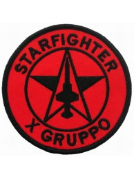ITALY AIRFORCE F104 STARFIGHTER X GRUPPO PATCH