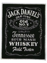 GIANT JACK DANIEL WHISKEY EMBROIDERED PATCH (P1)