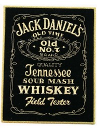 GIANT JACK DANIEL WHISKEY EMBROIDERED PATCH (P)