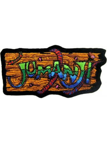 JUMANJI MOVIE IRON ON EMBROIDERED PATCH