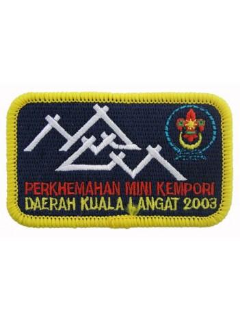 2003 BOY SCOUT MALAYSIA JUMBOREE PATCH