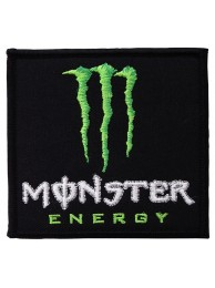 KAWASAKI MONSTER ENERGY EMBROIDERED PATCH #32