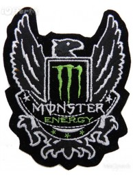 KAWASAKI MONSTER ENERGY EMBROIDERED PATCH #37