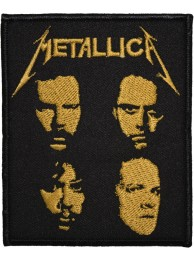 METALLICA MUSIC ROCK & PUNK EMBROIDERED PATCH #03