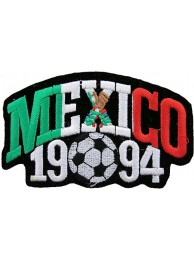 WORLD CUP MEXICO 1994 FOOTBALL SOCCER EMBROIDERED PATCH