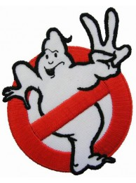 GHOSTBUSTER EMBROIDERED PATCH