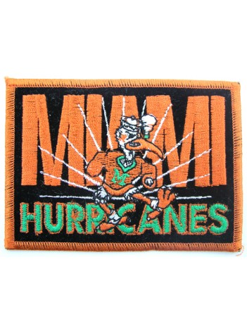 MIAMI HURRICANES NCAA PATCH