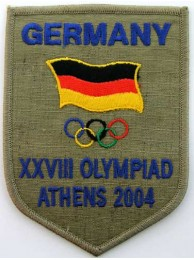 2004 ATHENS OLYMPIC - GERMANY EMBROIDERED PATCH