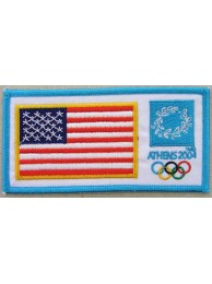 2004 ATHENS OLYMPIC - USA EMBROIDERED PATCH