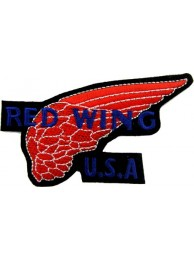 RED WING USA PUNK & ROCK PATCH