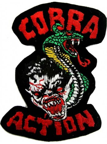 COBRA ACTION PUNK / ROCK PATCH
