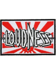 LOUDNESS MUSIC PUNK & ROCK EMBROIDERED PATCH #01