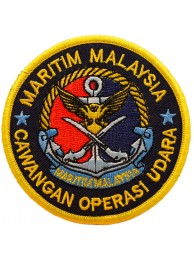RMN MALAYSIA NAVY EMBROIDERED PATCH #02