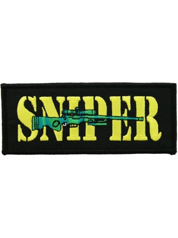 SNIPER SHOOTING SPORT ARMY EMBROIDERED PATCH #02
