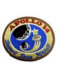 1971  NASA APOLLO 14 ASTRONAUT SPACEFLIGHTS PATCH