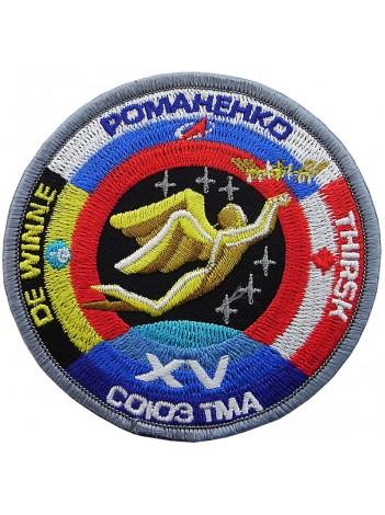 2009 RUSSIA SPACE FLIGHT SOYUZ TMA-15 PATCH #1