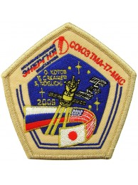 2009 RUSSIA SPACE FLIGHT SOYUZ TMA-17 PATCH