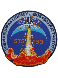 NASA SPACE FLIGHT STS-133 DISCOVERY 39 PATCH