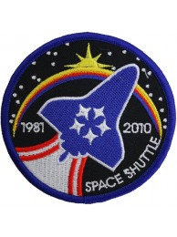 NASA SPACE FLIGHT STS-135 SPACE SHUTTLE PATCH