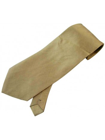 THAI SILK DARK KHAKI COLOR TIE NECKTIE