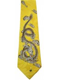 ORIENTAL DRAGON TIE NOVELTY NECKTIE #10