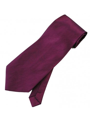 THAI SILK EGGPLANT COLOR TIE NECKTIE